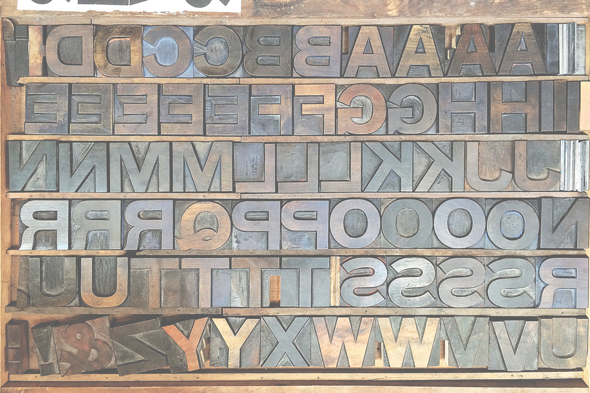 wooden letterpress type at typoretum printers