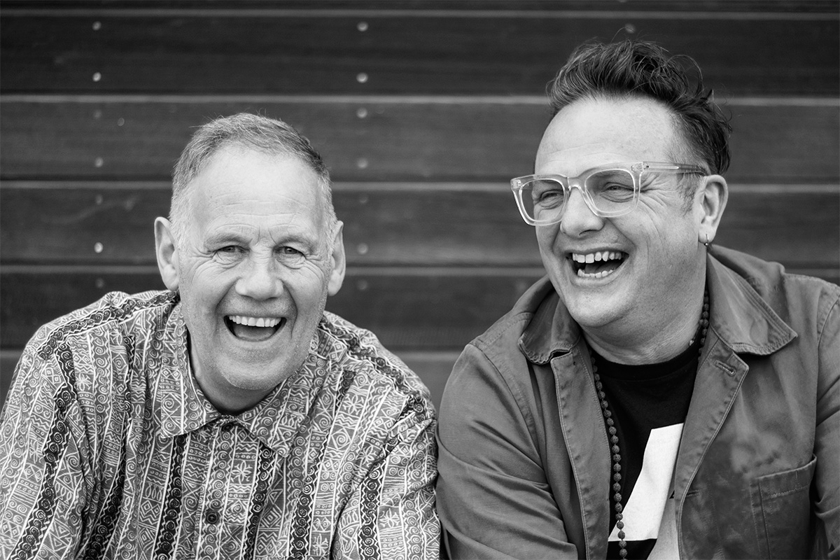 mike coulter and mark shayler at goodfest cornwall 2019