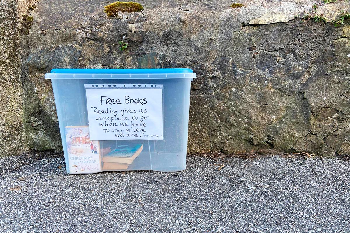 box of free books